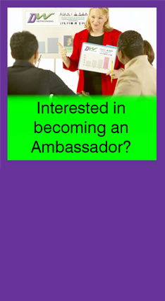 Interested in becoming a Double Whammy Networking Ambassador?